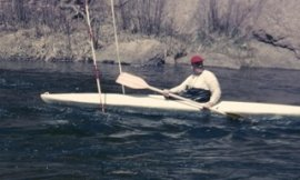 1961 Larry Zuk on South Platte River