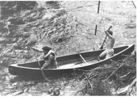 1955 Larry and Paula Zuk on Clear Creek
