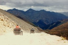 ATVs on Engineer Pass. Photo by Mary Carkin.