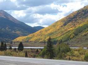 Colorado is in full splendor as the aspens and oaks are changing into fall colors.