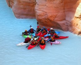 Kayaking Grand Canyon