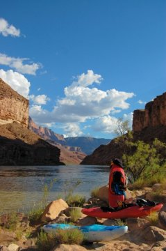 Kayaks Grand Canyon