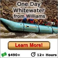 One Day Whitewater Rafting from Williams, AZ - Button