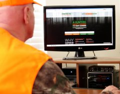 Online hunter-education courses make it easy for aspiring hunters. Photo by Jerry Neal/CPW.