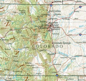 Detailed Colorado Maps
