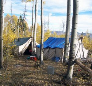 Drop camps Elk hunts