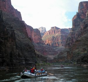 Rafting the Colorado River Grand Canyon