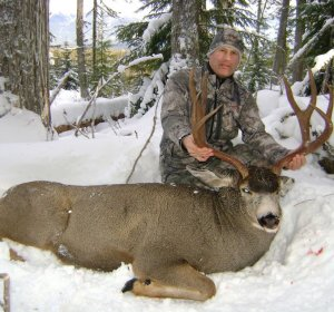 Where to Hunting Mule deer?