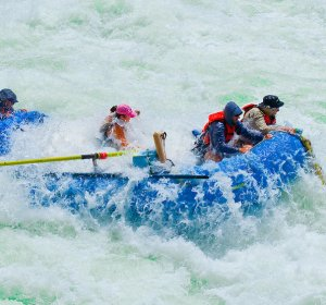 White water rafting Colorado River Grand Canyon