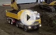 BIG RC Excavator Action! Caterpillar, Liebherr & Co