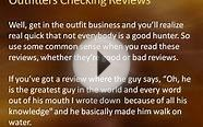 Choosing a Hunting Outfitter: Checking Reviews