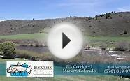 Elk Creek Ranch, Home Site 43, Meeker, Colorado, Land for Sale