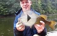 Fishing the Grand river for smallmouth bass
