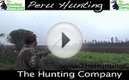 Hunting in Peru with The Hunting Company