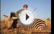 Hunting mountain zebra in South Africa