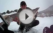 Slob Pike caught Ice fishing in Colorado