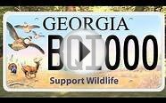 Specialty Tags Help Support Georgia DNR Wildlife Resources